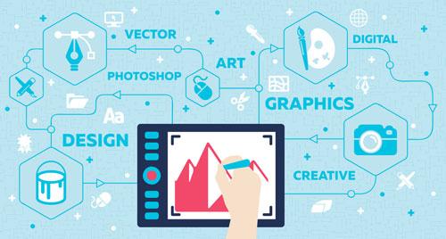 graphic design by DMC